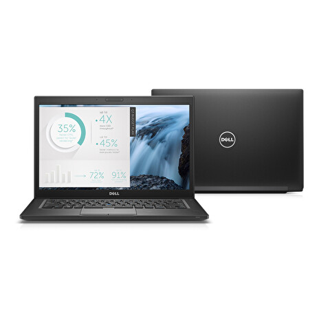 Dell Latitude 7480; Core i5 6300U 2.4GHz/8GB RAM/256GB M.2 SSD/battery VD