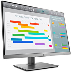 "LCD HP 24"" EliteDisplay E243i; black/silver, A-"
